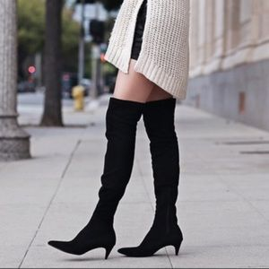 Zara Over the knee Boots - Size 9